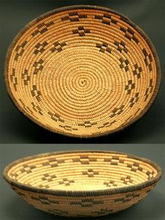 Chemehuevi Basket, 1920. The Chemehuevi are an indigenous people of the Great Basin. They are the southernmost branch of Paiute.