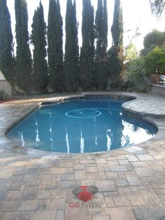 West Hills – Paver Pool Deck and Patio – Belgard Urbana – Bella color – View 2 - GoPavers.com