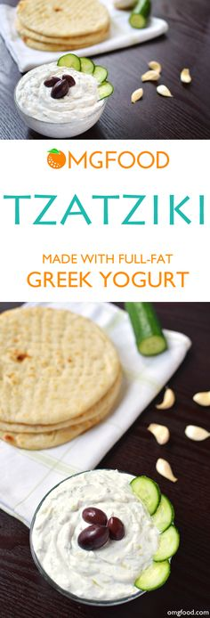 Serve this authentic tzatziki as a dip, on gyros, or with grilled meats and veggies!