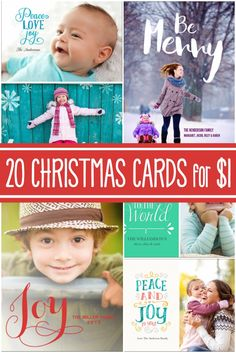 Christmas cards can be one of the most expensive parts of the holidays but we all love to send and receive! Send your cards for less this year and choose from tons of cute, custom designs.