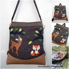 Amikor Bambi találkozik a rókával Bambi, Minion, Gym Bag, Handmade, Fashion, Moda, Hand Made, Fashion Styles, Minions