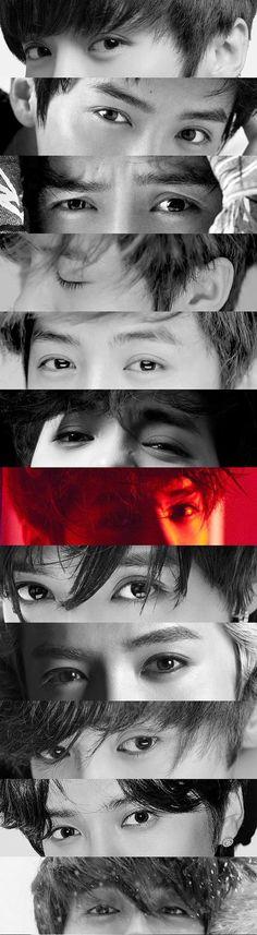 Lu Han 鹿晗    Lu Han Has the most beautiful eyes in the world [ Cr: Twitter: XXVII ]