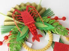 小紙クラフト - Kogami Craft Paper Quilling Designs, Quilling 3d, New Years Decorations, New Year Card, Mother And Child, Flower Petals, Paper Art, Christmas Ornaments, Holiday Decor