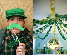 How to make DIY Decor quickly and beautifully for St. Patricks Day or just to spring up your home for March. You'll love these free printable March decor, how to decorate for St. Patricks Day parties, and fun lucky crafts. St Pattys, St Patricks Day, Saint Patricks, St Patrick's Day Decorations, St Patrick's Day Crafts, Green Party, St Paddys Day, Luck Of The Irish, How To Make Diy