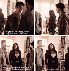"""S4 Ep10 """"Monstrous"""" - Derek, Scott, Kira and  Braeden"""