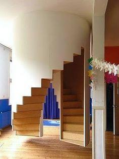 REVISTA DIGITAL APUNTES DE ARQUITECTURA: Diseño de Escaleras, algunas alternativas