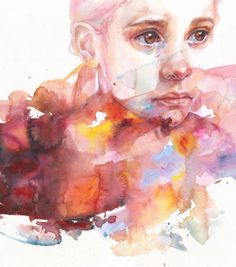 """Agnes Cecile """"Don't worry you are a flower"""""""
