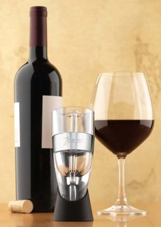 Looking for a unique gift? The Zazzol #Wine Aerator Makes a FUN Stocking Stuffer #wineaerator #ad