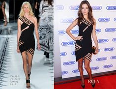 Alessandra Ambrosio In Versus Versace - Rimowa New York Store Grand Opening - Red Carpet Fashion Awards Alessandra Ambrosio, Celebrity Red Carpet, Celebrity Style, Versus Versace, Red Carpet Looks, Red Carpet Dresses, Grand Opening, Red Carpet Fashion, Her Style
