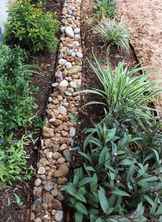 French Drains A Trench Filled With Rocks Gravel Sand To