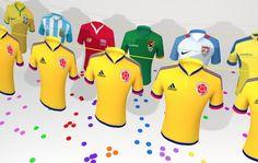 Homenaje a la Copa América Centenario 2016