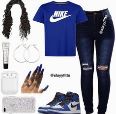 Nike Outfits – Page 7010183586 – Lady Dress Designs Swag Outfits For Girls, Cute Swag Outfits, Teenage Girl Outfits, Cute Comfy Outfits, Cute Outfits For School, Teen Fashion Outfits, Sporty Outfits, Dope Outfits, Simple Outfits