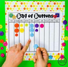 Color Sorting Game for Preschool #preschool #colorrecognition #planningplaytime