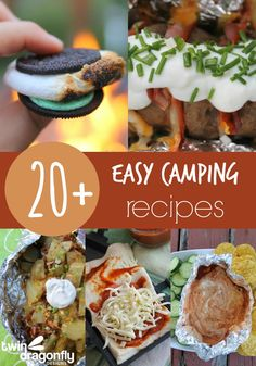 So many great recipes for camping!