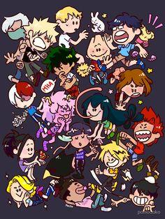 'Class Fitted Scoop T-Shirt by pomodoko My Hero Academia Memes, Hero Academia Characters, Buko No Hero Academia, Anime Characters, Birthday Scenario Game, Best Hero, Hero Wallpaper, Hero Costumes, Anime Crossover