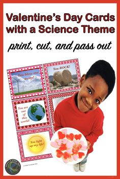Valentine's Day Cards with a Science Theme! Primary Science, Mad Science, Stem Science, Science Lessons, Printable Valentines Day Cards, Idioms, Kindergarten Activities, Printables, Teacher