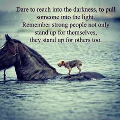 Always stand up for others