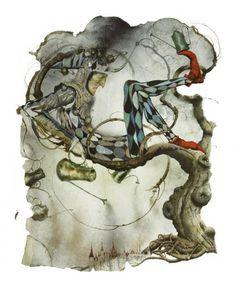 Oscar Wilde The Selfish Giant by Wladimir Dowgialo 03 Children's Book Illustration, Book Illustrations, 8th Of March, Oscar Wilde, Fantastic Art, Christmas Cross, Selfish, Childrens Books, Illustrators