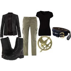 """""""Katniss Everdeen"""" by ashley-nicole-parris on Polyvore"""