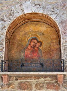 Roadside Shrine in Assisi Italy