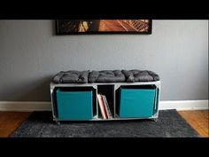 Basically you only need two crates and two boards to make this amazing eye-catcher