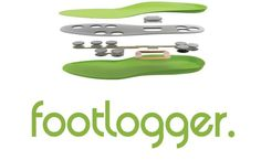 The FootLogger Smart Insoles Feature Eight Pressure Sensors #shoes trendhunter.com