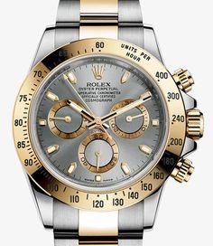 Reloj Rolex Cosmograph Daytona: Rolesor amarillo - combinación de acero 904L y oro amarillo de 18 quilates – 116523