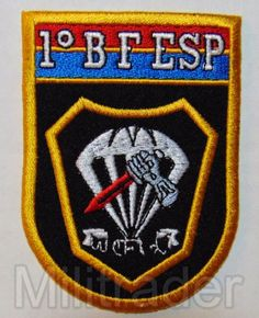 Brazillian Army 1st Special Forces (SF) Battalion Counter-Terrorism Patch