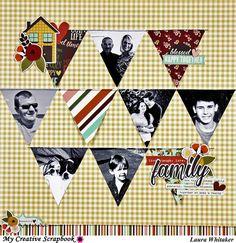 Family | My Creative Scrapbook Kit club | Simple Stories | Vintage Blessings - Scrapbook.com