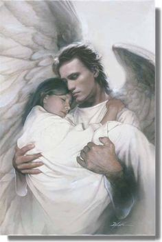 Guardian angel's arms.