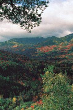 Adirondack Mountains, unusual, dome-like mountain range in New York.