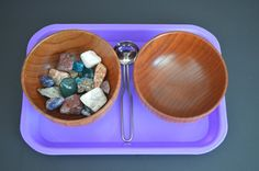 Scooping Minerals by MontessoriMornings on Etsy