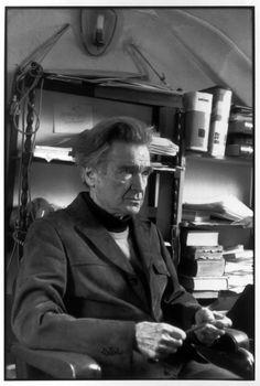 Romanian philosopher and essayist Emil Michel CIORAN at his home. Emil Cioran, Jan Van Eyck, Henri Cartier Bresson, Essayist, Writers And Poets, Robert Doisneau, 35mm Film, Street Photo, Romania