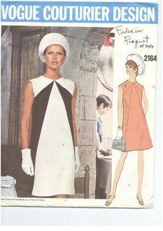 Vogue 60s pattern