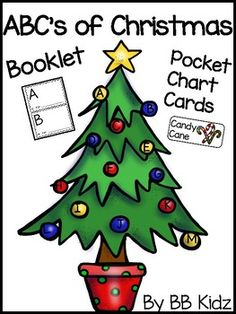 This is a great way to bring in illustrating and writing for the Christmas holiday.  A fun booklet to make...Colored Pocket Chart Cards are included.  A -Angel, B- Bell, C- Christmas, D- December, E- elf, F- Frosty, G-Gingerbread Man, H -Holly, I- Ice skates, J- Jingle bell, K - Kris Kringle, L- lights, M- Mistletoe, N- Nutcracker , O- Ornament, P- Poinsettia , Q- Quiet (mouse), R- Reindeer, S-Santa, T- toys, U-  Unwrap presents, V-visiting grandparents , W- Wreath , X- Polar Express, Y…