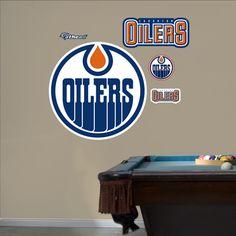 Edmonton Oilers Logo - for the basement!!