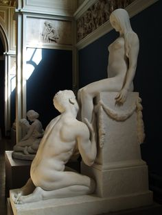 thesouthernwind:  Erotic sculpture in the Glyptoteket museum in Copenhagen.