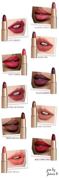 Charlotte Tillbury | New! Matte Revolution | Create the illusion of fuller, wider lips with my Matte Revolution – for lips that look lit from within.