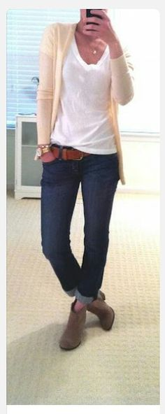 Love the outfit with the booties. So comfy and girly