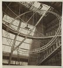 Exposition internationale de 1937. Structure (intérieur du palais de l'Air).
