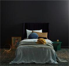 Dark, moody and magical kids rooms