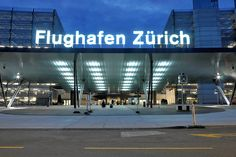 Flughafen Zürich / Signaletik / Designalltag
