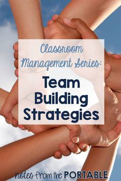Love these Team Building Strategies for the Classroom. Great to use all year long to keep classroom atmosphere and classroom management in line.