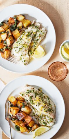 This cod and potatoes dish gets a flavor boost from herb butter, which is easier to make than restaurants would have you believe! The trick is letting the butter soften to room temperature so it can be easily mashed with herbs and chopped shallots. Learn smart cooking techniques like this with Martha & Marley Spoon meal kit deliveries. Sign up today!
