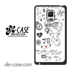 Louis Tomlinson Tattoo DEAL-6658 Samsung Phonecase Cover For Samsung Galaxy Note Edge