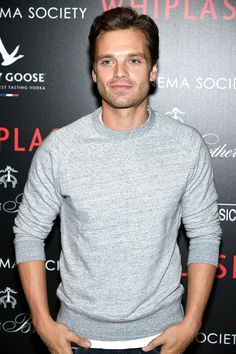 "That time he wore a gray sweater and we were like, ""He looks good in gray."" 
