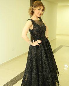 The Lebanese Singer Yara in a Tony Ward SS17 dress