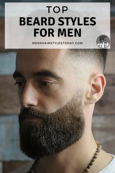 Top Beard Styles For Men - Best Short and Long Beard Styles With Cool Men's Hairstyles. Find all the best thick and full beards here. Smart Hairstyles, Trendy Mens Hairstyles, Asian Men Hairstyle, Men's Hairstyles, Formal Hairstyles, Wedding Hairstyles, Long Beard Styles, Beard Styles For Men, Hair And Beard Styles
