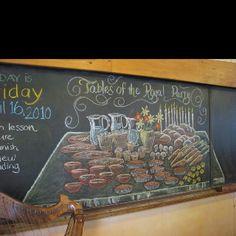 Chalk drawing by Dr. Rick Tan. Grade 2 Math block East Bay Waldorf School. www.thewaldorfway.blogspot.com www.syrendell.com