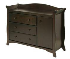 Stork Craft Aspen Combo Dresser Chest Espresso. Baby Changing TablesChanging  ...